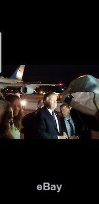 President Donald Trump Autographed Dancing Bear hat. Grateful dead band