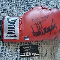 President Donald Trump Autographed Signed Everlast Boxing Glove Coa