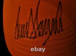 President Donald Trump Bold Signed Autographed Maga Baseball Hat Cap Coa