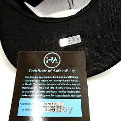 President Donald Trump Hand Signed Autographed Black Make America Great Hat COA