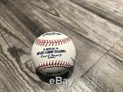 President Donald Trump / Mike Pence Dual Signed Autographed Baseball Psa/dna Coa