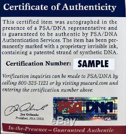 President Donald Trump Signed 11x14 Auto Photo PSA DNA COA