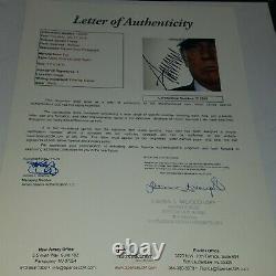 President Donald Trump Signed 11x14 MAGA Photo Autograph JSA LOA
