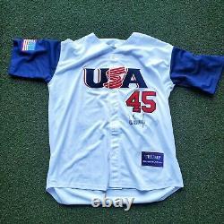 President Donald Trump Signed Autographed #45 Baseball Jersey Lifetime Coa XL