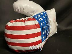 President Donald Trump Signed Autographed Boxing Glove