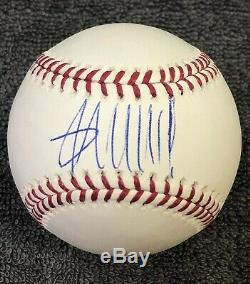 President Donald Trump Signed Autographed Omlb Baseball Coa