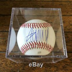 President Donald Trump Signed Autographed POTUS Baseball COA