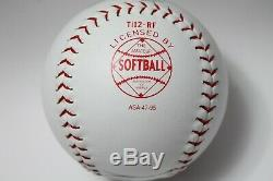 President Donald Trump Signed Autographed softball CoA