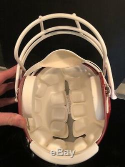President Donald Trump Signed Full Size NJ Generals Helmet AUTO PSA-DNA LOA MAGA