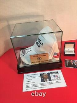 President Donald Trump Signed Maga Cap