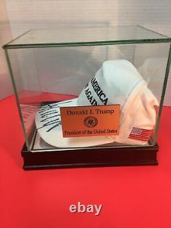 President Donald Trump Signed Mega Cap