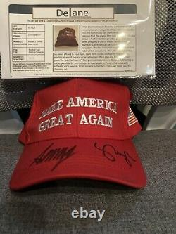 President Donald Trump & VP Mike Pence Autographed MAGA Hat