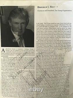 President Trumps autograph to Jason McElwain, J-Mac, the world known autistic boy