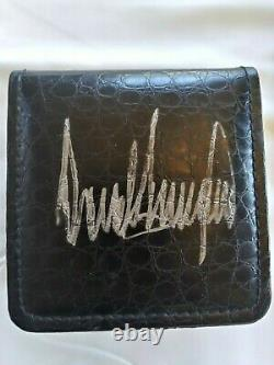 RARE! Donald Trump Autographed Signed Watch Autograph President Presidential