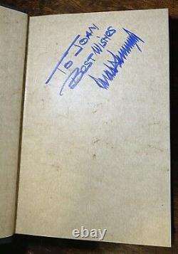 SIGNED 1987 Classic Late 80 Signature The Art Of The Deal President Donald Trump
