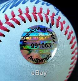 SIGNED President Donald Trump Autographed Baseball COA MAGA