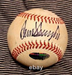 SIGNED President Donald Trump Autographed Rawlings Baseball w COA MAGA