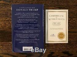 Signed Donald Trump Book CRIPPLED AMERICA Ltd. Ed. MINT CONDITION
