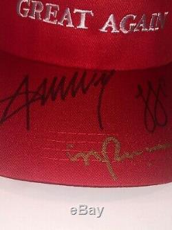 Signed Ivanka Trump Donald Trump President And Mike Pence Vp Maga Hat