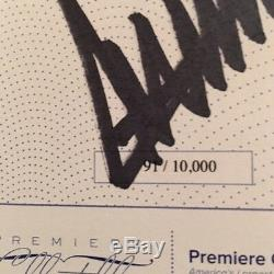 Signed copy 92 out of 10,000 Donald Trump, Crippled How America Make Great Again