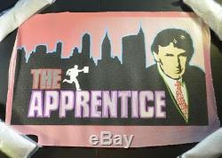 Steve Kaufman, Original Donald Trump - The Apprentice, numbered 4/50. Signed