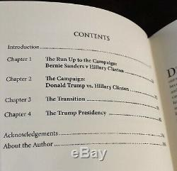 TRUMPED UP Alan Dershowitz SIGNED Copy Donald Trump Election Democrat Republi