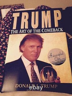 The Art of the Comeback Donald J. Trump Autographed 1st Edition (1997)
