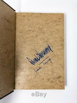 The Art of the Deal Donald Trump + Ivana Trump Signed First Edition 1st/1st