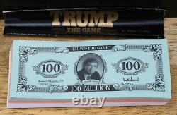 Trump The Game (1989) Donald J. Trump Signed, Milton Bradley, Art Of The Deal