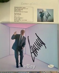 1/1 Donald Trump Signé Autographié Photo 8x10 Snl Rare Jsa Loa