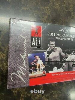 1-2011 Leaf Muhammad Ali Trading Cards Scelled Box Event/fight Worn / Trump Auto