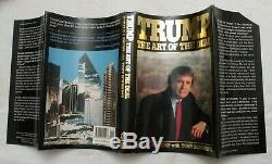 1987, Trump The Art Of The Deal De Donald J. Trump, 2e Hbwithdj Pr, Signe
