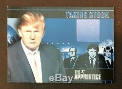 2005 Comic Images Le Maître Apprenti Set 2 Donald Trump Autos Autograph