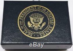 2020 Président Donald Trump Maison Blanche Drapeau Américain Cadeau Potus Sceau Boutons De Manchette Signe