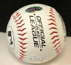 45e Président Donald J. Trump Signe Baseball Psas Assermentée