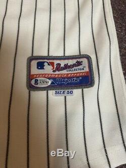 45e President U. S. Atout Autographed Donald New York Yankees Jersey Bas Rare