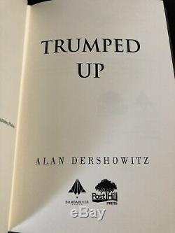 Alan Dershowitz Inventées De Toutes Pièces Copie Donald Trump Signe Election Démocrate Republi