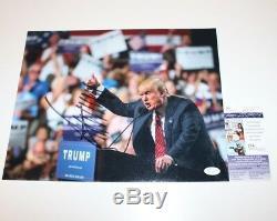 Atout Signé Make Donald America Grande Photo De Nouveau 11x14 Withcoa President 2016