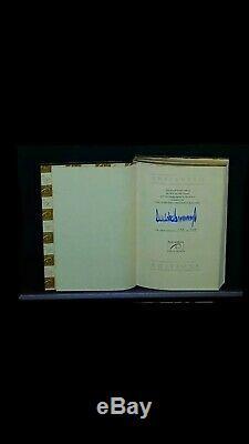 Autographe Du Président Donald Trump Rare Signé Automatiquement 1ère Éd. 100% Authentique / 500