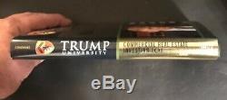 Autographiés Signé Par Donald Trump, Trump University 101 Inclut Coa Bateau Libre $