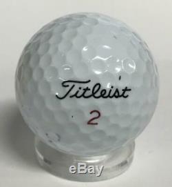 Balle De Golf Signée Par Donald Trump, 45e Président. Psa Auto Near Mint Mint 8