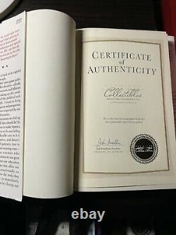 Crippled America Autographed Book Coa #2306 Of 10,000 Signed By Donald J. Trump