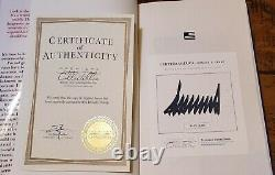 Crippled America Donald Trump Autographié Signé Édition Limitée Hardcover Book