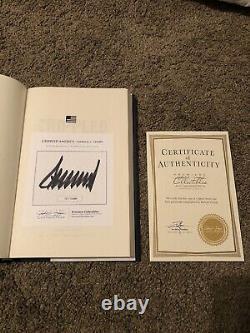 Crippled America Signed Book 717/10,000 Par Le Président Donald J. Trump