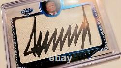 Décision 2016 Donald J. Trump Coupe Signature Blue Foil Sharp Pristine Auto 10