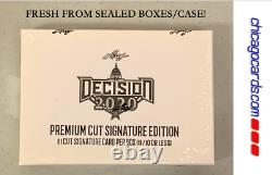 Décision De Feuille 2020 Prime Cut Signature Ed Hobby Box (donald Trump Joe Biden)