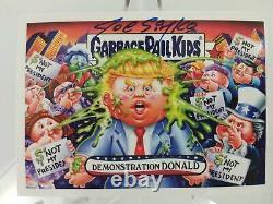 Démonstration Donald Gpk 2016 Trump Disgrace À La Maison Blanche Signé Simko