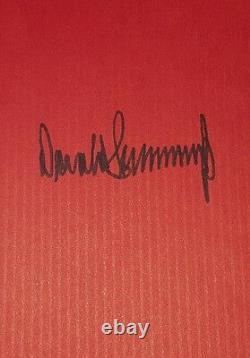 Donald J Atout Signé Autographié Survivre Au Top Livre Rare Signature Complète