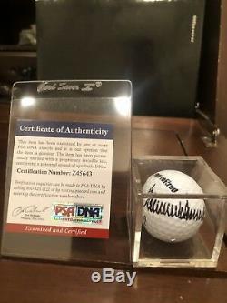 Donald J. Trump Authentique Signé Titleist Golfball Autographié Psa-dna # Z45643