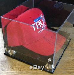 Donald J. Trump Signed'trump 2016' Red Hat Campagne, 06/07/16 Sharonville